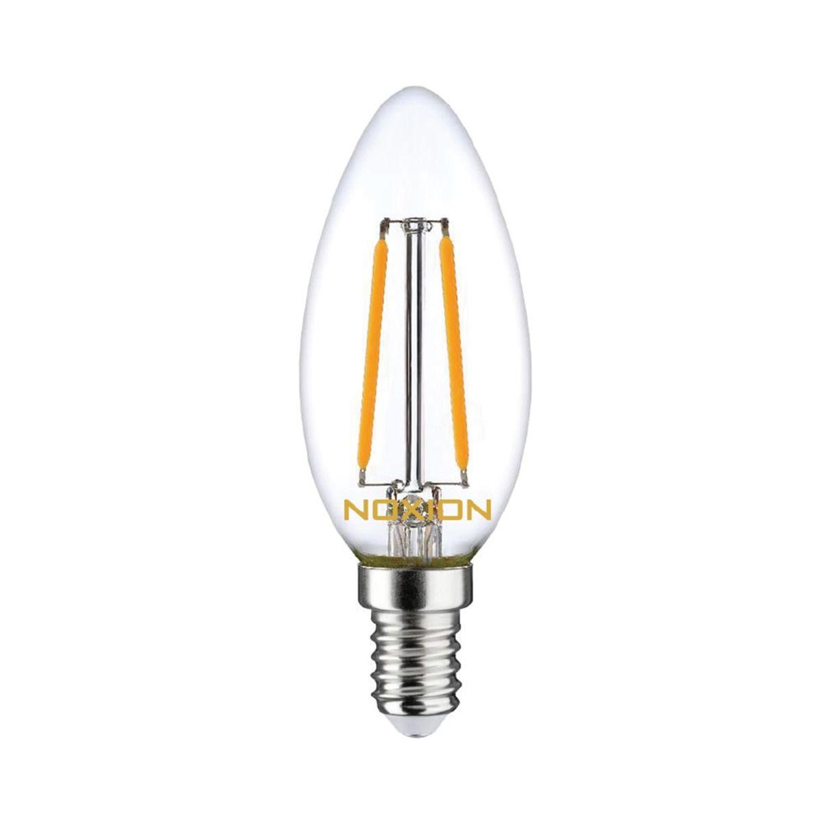 Noxion Lucent Gloeilamp LED Kaars B35 E14 2.5W 250lm 827   Dimbaar - Vervanger voor 25W
