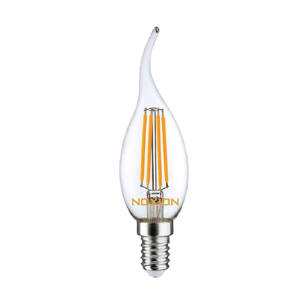 Noxion Lucent Kooldraad LED Candle 4.5W 827 BA35 E14 Helder | Dimbaar - Vervanger voor 40W