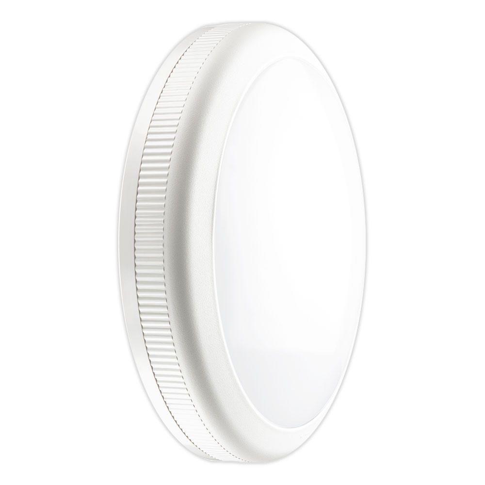 Noxion LED Wand- plafondlamp Core Op de muur te monteren / Plafondmontage 20W 3000K Wit Rond Sensor Ø360mm ( Vervanger voor 2x26W ) EMI1HA