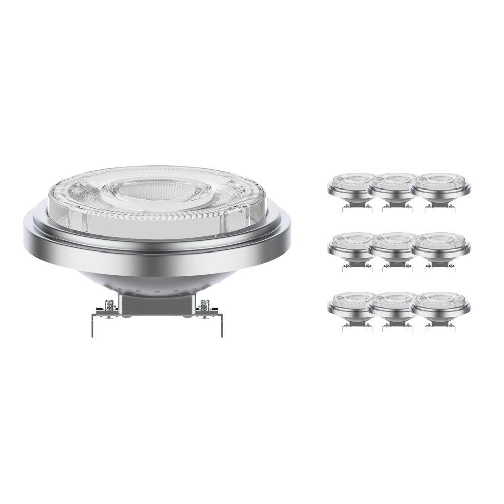 Multipack 10x Noxion Lucent LED Spot AR111 G53 12V 11.5W 927 24D   Dimbaar - Hoogste Kleurweergave - Vervanger voor 75W