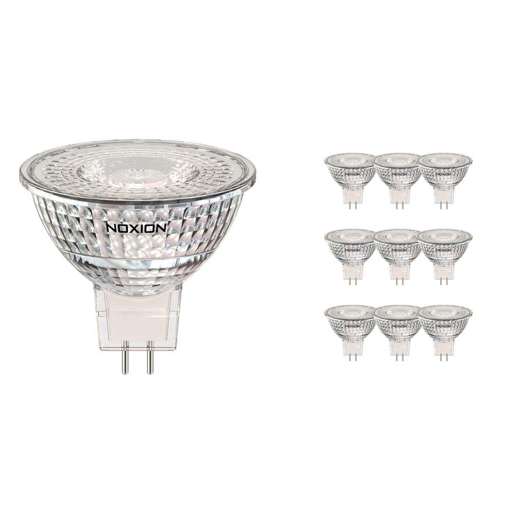 Multipack 10x Noxion LED Spot GU5.3 5W 830 36D 470lm | Dimbaar - Vervanger voor 35W