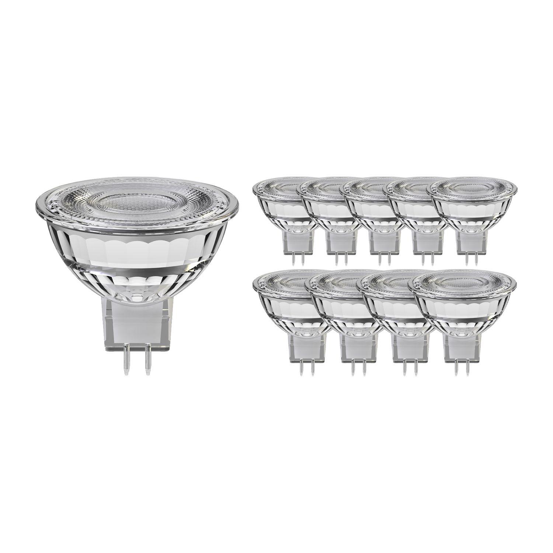 Multipack 10x Noxion LED Spot GU5.3 8W 830 60D 660lm | Dimbaar - Vervanger voor 50W
