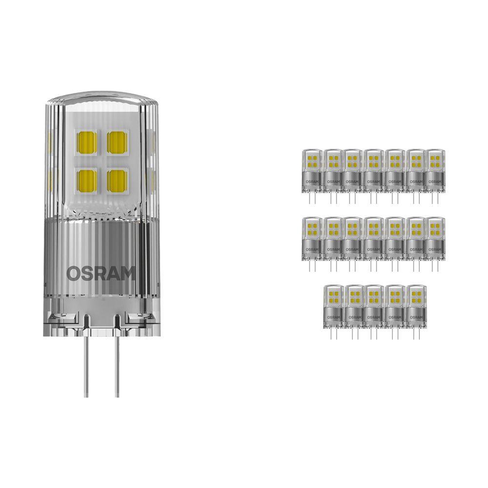 Voordeelpak 20x Osram Parathom LED PIN G4 2W 827 | Dimbaar - Vervanger voor 20W