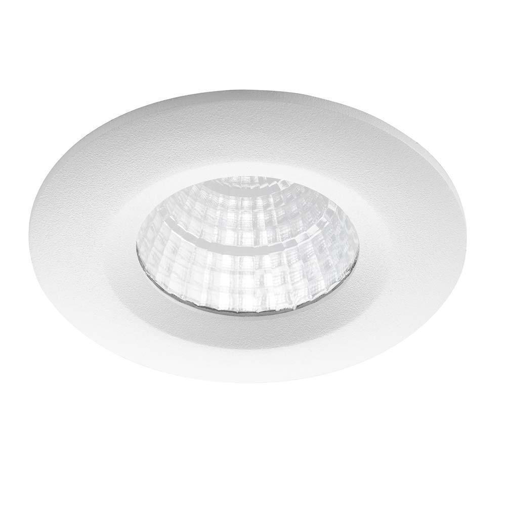 Noxion LED Spot Forseti IP44 2700K Wit 6W | Dimbaar