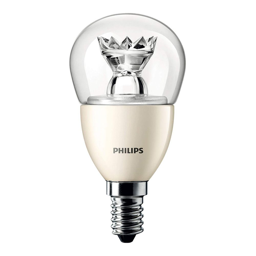 Philips LEDluster E14 P48 6W 827 Helder MASTER   DimTone Dimbaar - Vervangt 40W