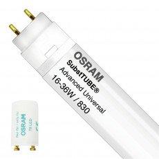Osram SubstiTUBE Advanced UN 16W 830 120cm | Vervangt 36W