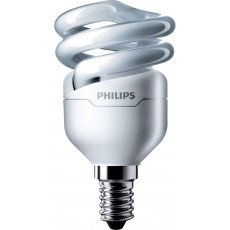 Philips Tornado T2 Spiral 8W 827 E14