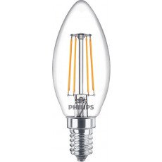 Philips Classic LEDcandle E14 B35 4.3W 827 Helder | Vervangt 40W