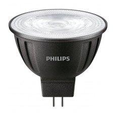 Philips LEDspot LV GU5.3 MR16 8W 830 36D MASTER   Dimbaar - Vervangt 50W