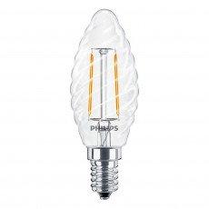 Philips Classic LEDcandle E14 ST35 2.5W 827 Helder   Vervangt 25W