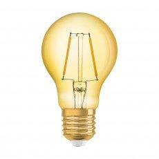 Osram Vintage 1906 LED E27 A60 2.5W 825 Goud | Vervangt 22W