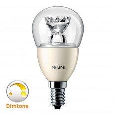 Philips LEDlustre E14 MASTER | DimTone Dimbaar