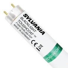 "Sylvania Zwartlight F18W T8 BL368 24"" Toughcoat   59cm"
