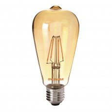Sylvania ToLEDo Retro Edison E27 ST64 4W Goud | Vervangt 35W